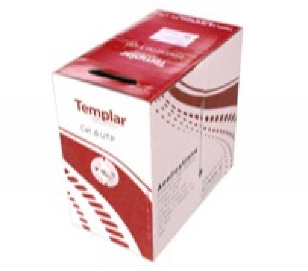 TEMPLAR 2011年中國區域銷售CAT.6 UTP網路線外箱包裝更新公告