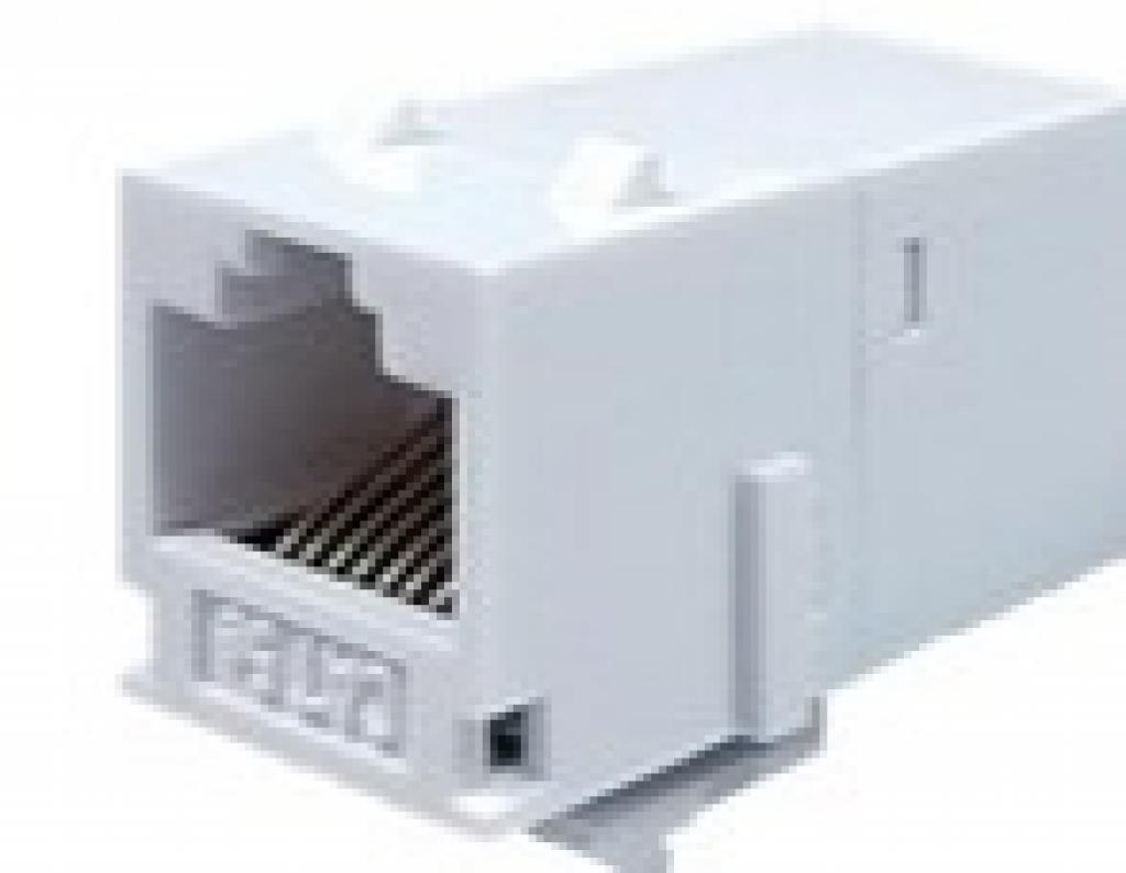 Cat.5E UTP RJ45 JACK式雙母接頭/網路耦合器
