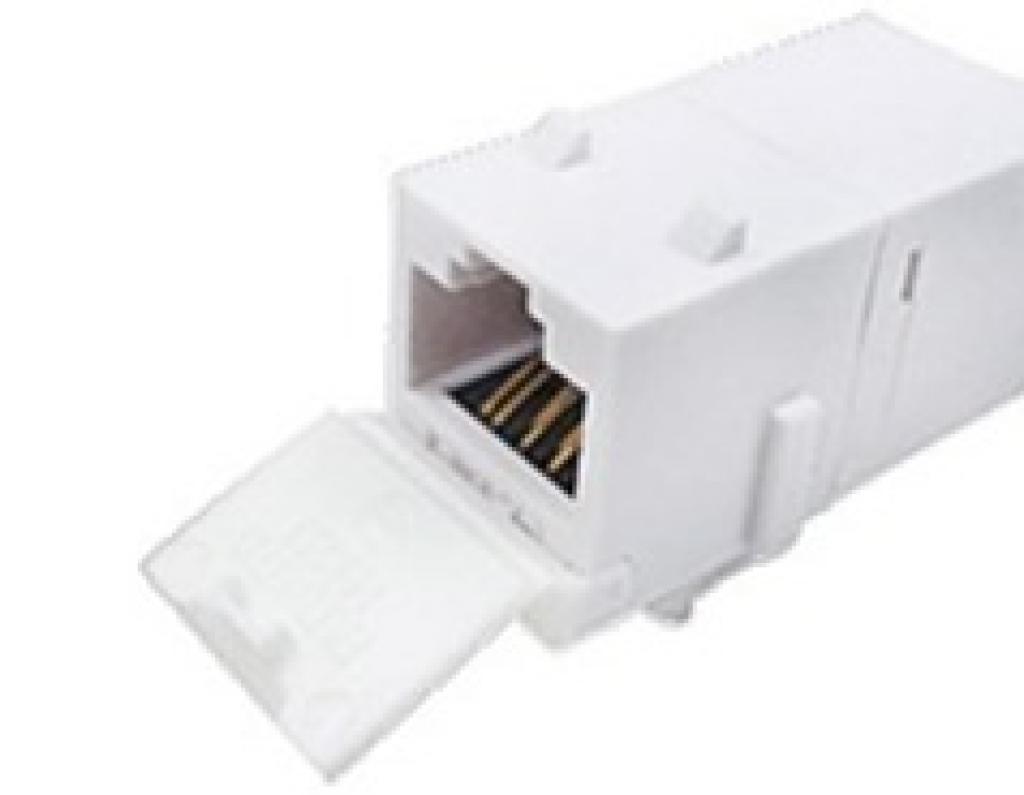 Cat.6 UTP RJ45 JACK式雙母接頭/網路耦合器