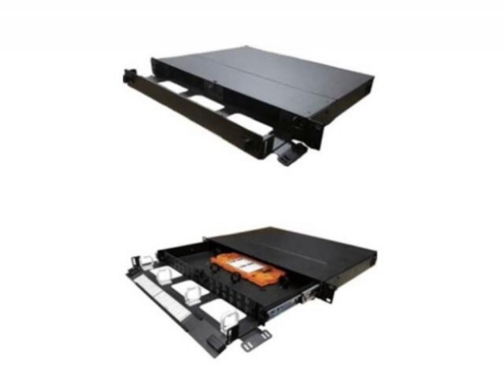 1U 抽屜式光纖收容箱